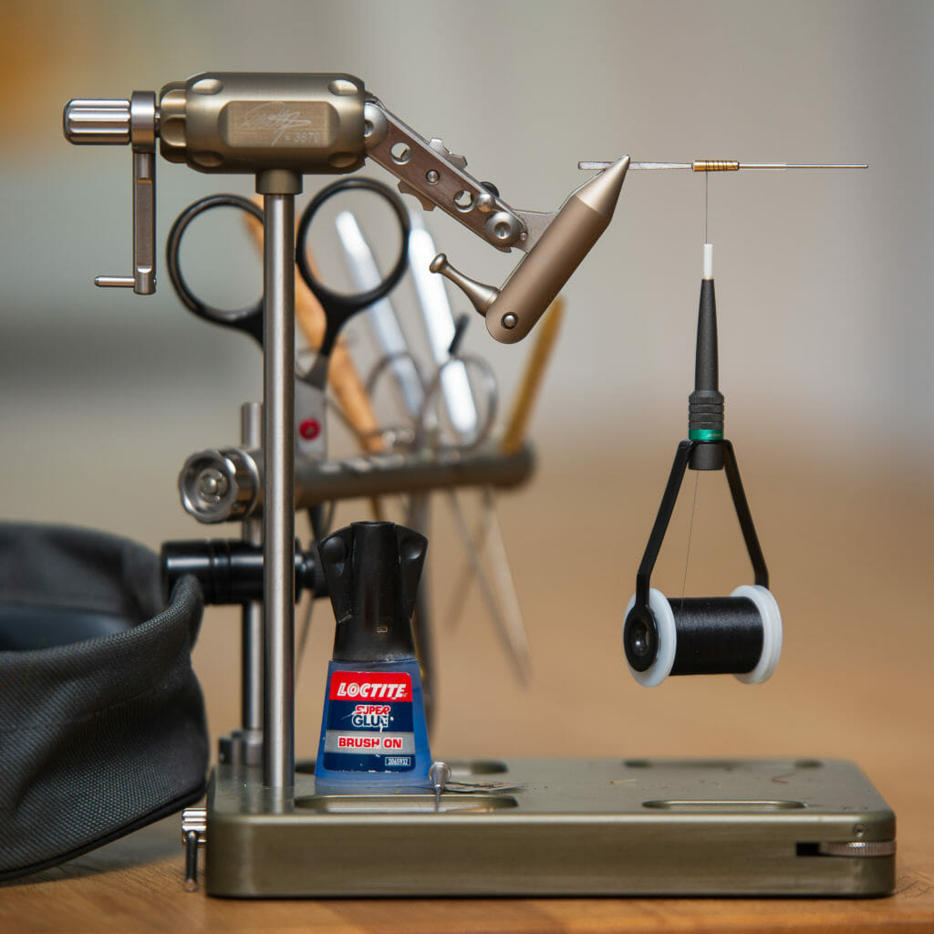 flugbindningsstäd och flugbindningsverktyg